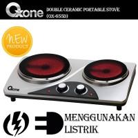 Jual Ox-655D Kompor Listrik 2 Tungku/Ceramic Stove Murah
