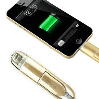 Elite 2 In 1 Duo Cable Lightning and Micro USB Cable Android / IOS 9