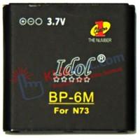 Baterai Batre Batere Idol Nokia BP-6M N73 / 6233 / 9300