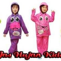 jas hujan anak karakter kido/kiddo