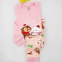 harga Baju Anak/baju Tidur/pajamas/gap- Snowman And Monkey Tokopedia.com