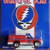 Hotwheels Grateful Dead truck