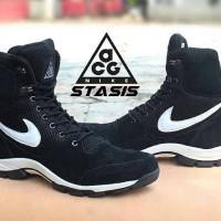 harga sepatu boots nike acg statis leather boots black stones Tokopedia.com