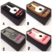Casing Moschino Dog Silicon Case for Iphone 5 / 5S