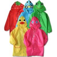 CHILDREN RAIN COAT / JAS HUJAN ANAK / FUNNY RAIN COAT (coat baju saja)