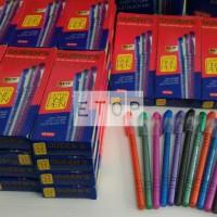 Pulpen Faster Queen C6000 Warna Hitam / Ballpoint Pen / Pena Bolpoin