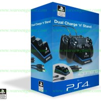 PS 4 Officially Licensed Dual Controller Stand with Twin USB