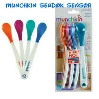 Jual Munchkin White Hot Safety Spoon with Sensor / Sendok Bayi Sensor Panas Murah