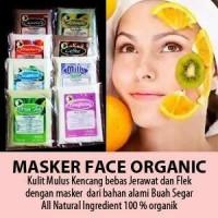 Masker Organik / Masker Wajah Alami