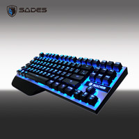 Sades Karambit TKL Blue LED Kaihl Mechanical Keyboard