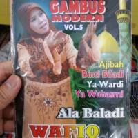 VCD WAFIQ AZIZAH - GAMBUS MODERN VOL.5