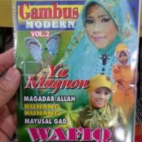 VCD WAFIQ AZIZAH - GAMBUS MODERN VOL.2