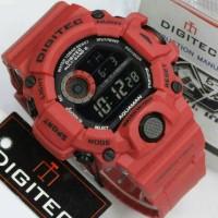 Jam Tangan Digitec DG-2064T Full Merah Digitec 2064 Digitec DG-2064
