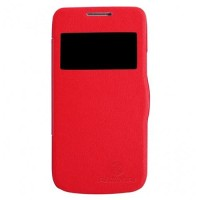 Nillkin Fresh Case Samsung Galaxy S4 Mini Flip Cover - Red