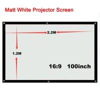 harga Layar Proyektor 100 inch, ukuran 120 x 220 cm (Screen Projector) Tokopedia.com