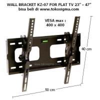 WALL BRACKET KZ-07 for FLAT TV 23 in - 47 in