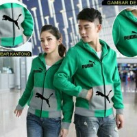 harga Jaket Sweater Couple Puma Tokopedia.com