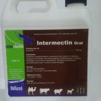obat ektoparasit dan endoparasit INTERMECTIN ORAL 1000 ml pt TMC