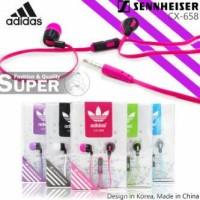 Sennheiser Adidas CX-260i + MIC HANDSFREE EARPHONE HANDSFREE MP3 HEADSET