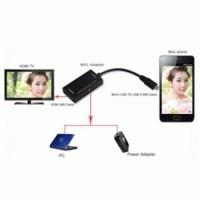 MICRO USB TO HDMI ADAPTER - MHL01 - BLACK