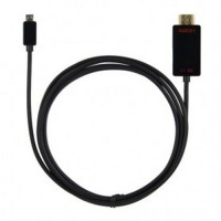 SLIMPORT TO HDMI VIDEO ADAPTER 1.8 M WITH MICRO USB PORT - BLACK