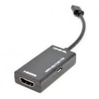 VZTEC MICRO USB 5 PIN TO HDMI CABLE 20CM - BLACK