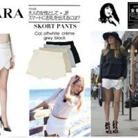 Skirtpant Zara - PUSAT GROSIR HOT PANTS CELANA PENDEK WANITA