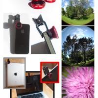 Jual lensa fish eye 3in1 macro wide handphone fisheye aksesoris hp murah Murah