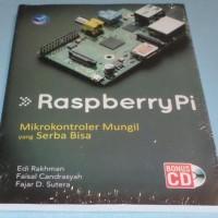 Buku Raspberry Pi, Mikrokontroler Mungil yang Serba Bisa + Bonus CD