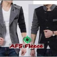 harga Blazer Jacket Jeket Cowok Bahan Fleece Japan Korea Style Keren Modis Tokopedia.com