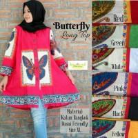 harga Jumbo Butterfly Long Top / Blouse Katun Bangkok Tokopedia.com