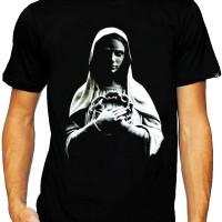 T-Shirt Glory Kaos 3D Bunda Maria Black