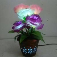 harga Lampu Meja/bunga Mawar 5 Tangkai (lm5t) Tokopedia.com
