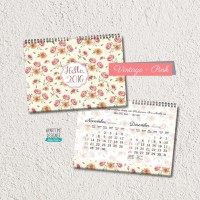 Jual kalender flower 2016 Murah