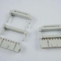 Socket Header Konektor IDC 16p 16pin Running Text putih
