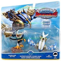 Skylanders SuperChargers Dual Pack: Hurricane Jet-Vac and Jet Stream