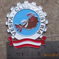 harga British Lambretta Club Badge Legshield  Vigano Ulma Gp Vespa Austria Tokopedia.com