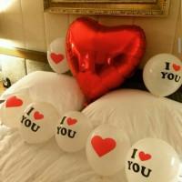 Balon Latex Tulisan I Love You