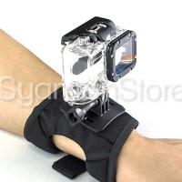 Action Cam 360 Glove Hand Strap For SJCAM & GOPRO HERO