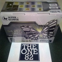 SUPER FLOWER SILVER GREEN FX 600W - PSU 80Plus Silver
