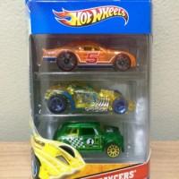 Hot Wheels Gift Pack 3 X-Raycers Stockar Burlesque Morris Mini