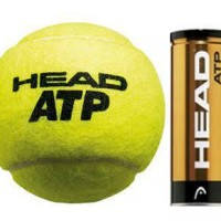 Jual BOLA TENIS HEAD ATP - Tennis Ball Head ATP (isi 3) Murah