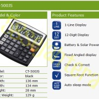 Kalkulator Citizen CT 500JS / Kalkulator Meja Kantor Toko Murah