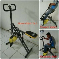 sepeda fitnes Horse Bike rider 2in1 power rider promo