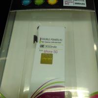 Jual BATERAI/BATTERY DOUBLE POWER LOGON IPHONE 5G Murah