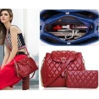 harga Tas Tangan Jinjing Handbag Shoulder Bag Zara Mango Vincci Wanita Merah Tokopedia.com