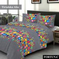 harga SPREI KATUN PANCA UK 160 X 200 MOTIF TIRTALOKA FORTUNA Tokopedia.com