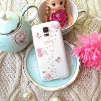 harga Flower Butterfly Swarovski Case For Samsung S4/s5/s6/s6 Edge/note 3/4 Tokopedia.com