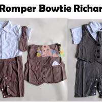 harga Romper Tuxedo/formal Vest Richard Tokopedia.com