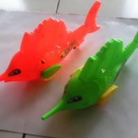 Mainan Ikan Pedang/Sword Fish Berjalan LED